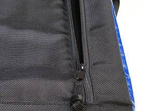 医療用バッグのスライダー交換