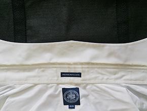 Yシャツの襟のシミ