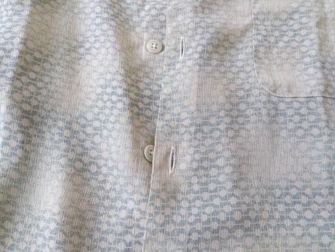 カジュアルシャツの復元加工