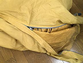 テントのスライダー交換