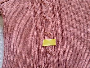 セーターの穴