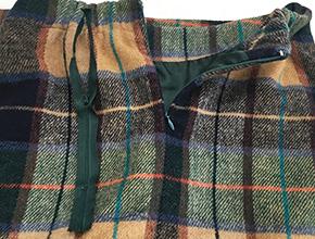 スカートのファスナー交換