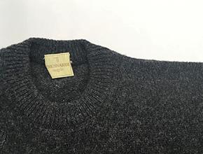 セーターの肩の穴修理