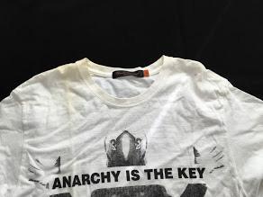 Tシャツのエリの復元加工